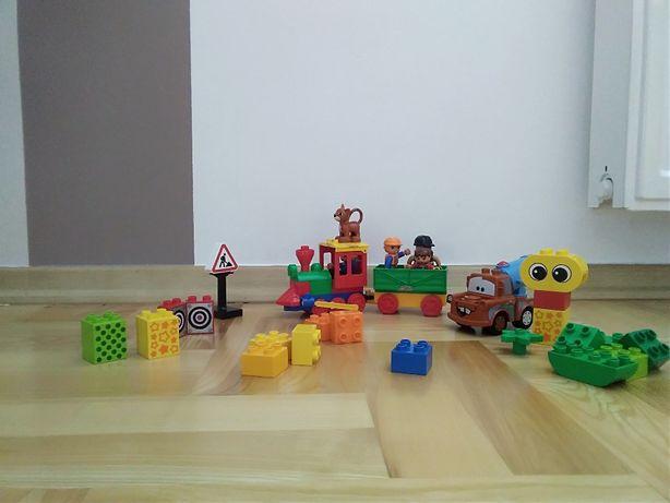 Lego duplo- lokomotywa`