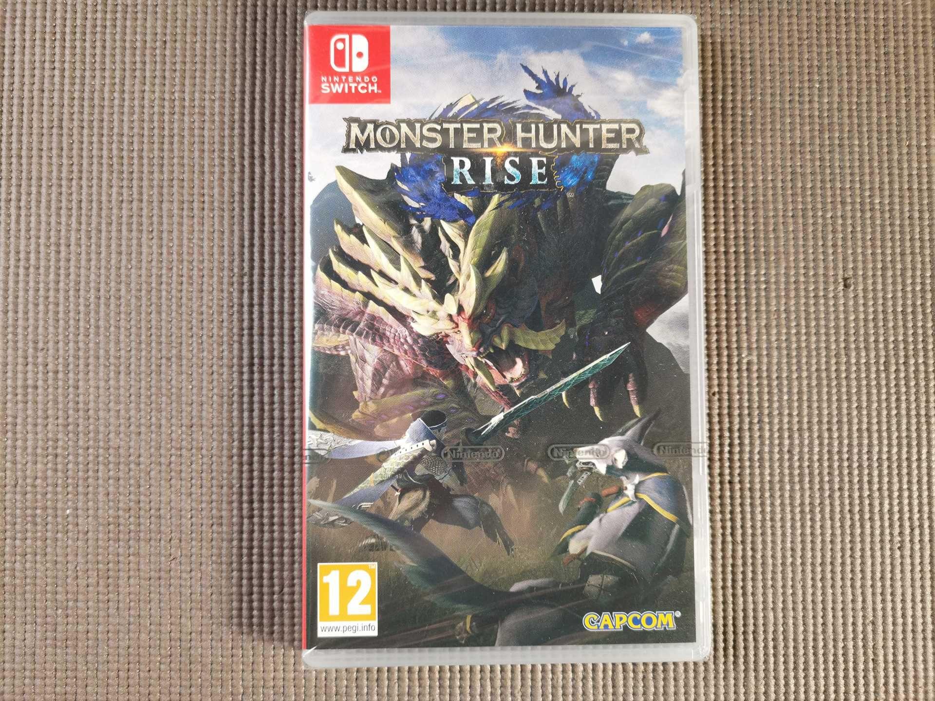 Jogos Nintendo Switch Monster Hunter Rise Pokemon Shield Sword 1971