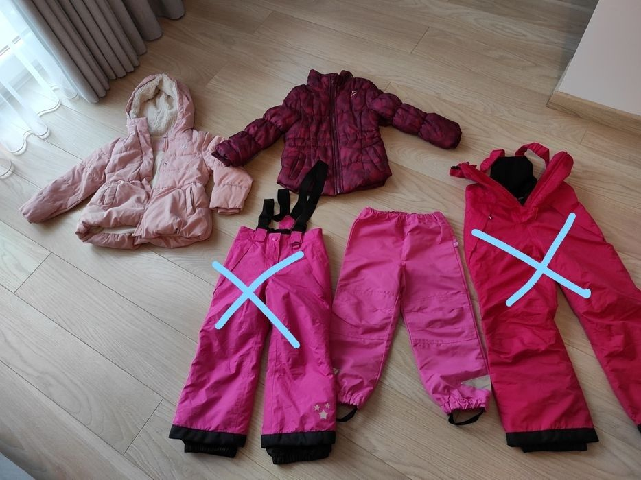 Kurtki zimowe, spodnie dla dziewczynki - 15zl za sztukę Warzymice - image 1