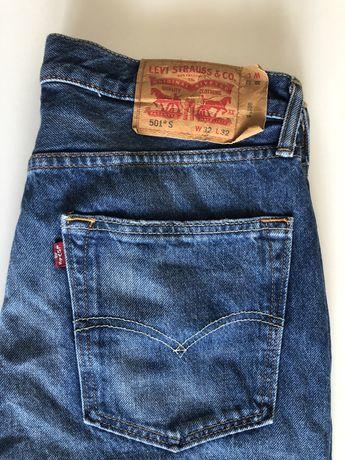 Jeansy Levi's 501 Slim
