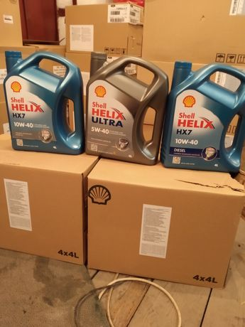 Моторное масло Shell helix ultra Шелл Хеликс ульт hx7 5w30 5w40 10w40d