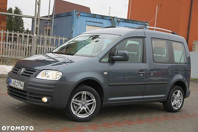 Volkswagen Caddy 1.6MPI#102km#8V#7 Osób#Z Niemiec# Opłacony#Piekny#Super Stan#