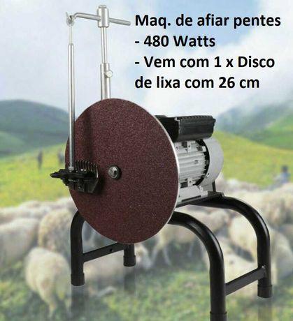 Máquina de afiar pentes/cortadores 450w e Ø 260mm para Maq. de Tosquia