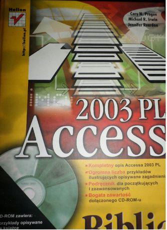 Książka poradnik Access 2003 PL Biblia Helion