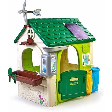 Feber Domek ogrodowy Eco Karmnik Segregacja Odpadów