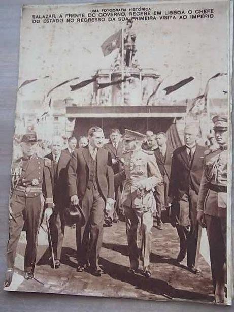 SALAZAR - FOTOGRAFIA HISTÓRICA 1938 Século Ilustrado nº35