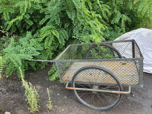 Wózek ogrodowy przyczepka taczka kola od komarka