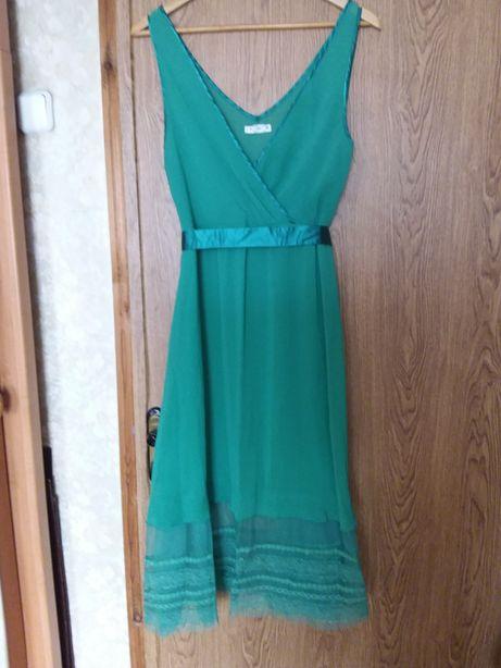 Шифоновое платье XL