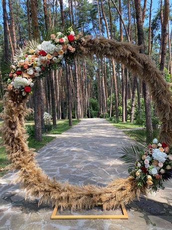 Прокат свадебной арки и атрибутики