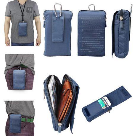 Поясная сумка/на пояс/чехол для телефона/нагудный кошелёк/бананка/2 цв