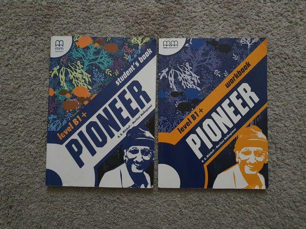 Учебники по английскому PIONEER B1+ тетрадь и книга оксфорд english