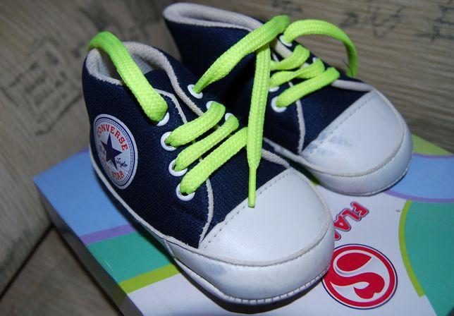 Тканевые кеды кроссовки первая обувь на малышей converse