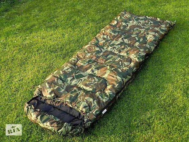 Спальный мешок с, капюшоном, чехлом до -8 код 101( цвет на выбор)