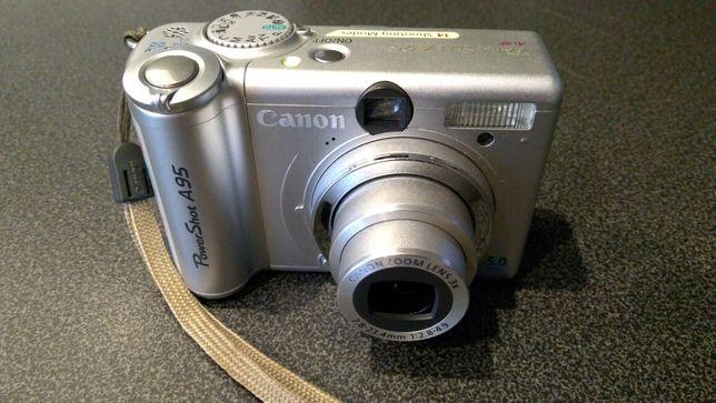 Aparat Canon PowerShot a95 plus karta pamięci 256 MB