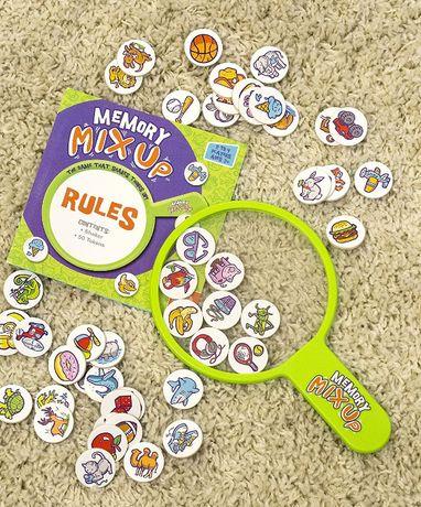 Настольная игра memory mix up, из сша, детям от 3 лет – новая