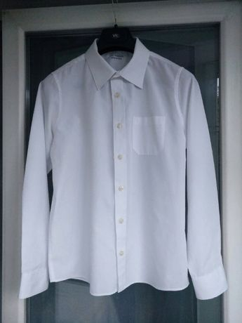 "Рубашка школьная ""M&S School"" easy iron р.158 мальчику 12-13л белая"