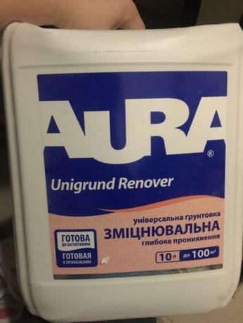 Грунтовка Aura unigrund renover 2 л