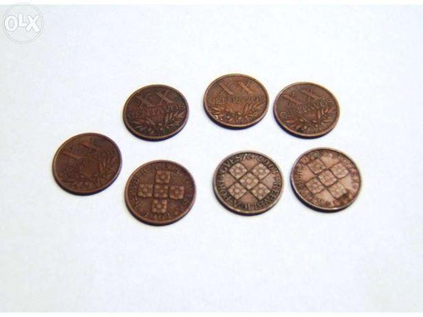 Moedas de XX centavos, Bronze de 1949 a 1969