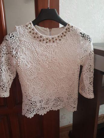 Блуза школьная р.128_134