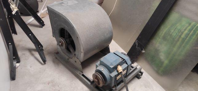 Ventilador industrial com motor Abb M2VA80A-4 Ac Motor 0.65kw 1680rpm