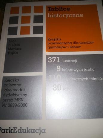 Książka TABLICE historyczne