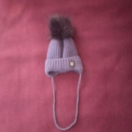 Зимняя шапка от нуля