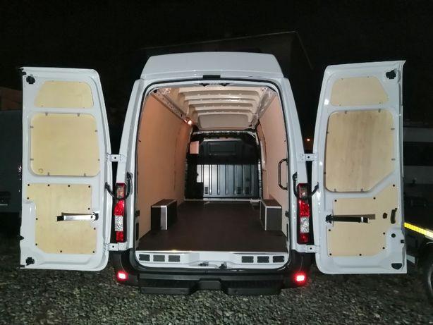 Opel Movano L4H3 Kompleksowa zabudowa przestrzeni ładunkowej busa