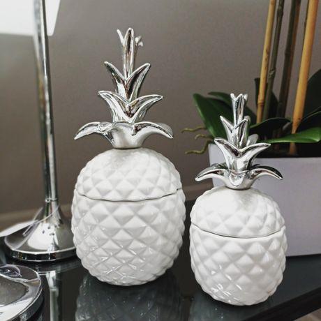 Ozdobne pojemniki ananasy