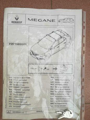Barras tejadilho Megane 4 carro