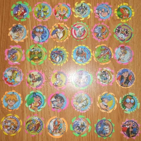 Tazos Beyblade Spinners