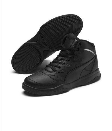 Кожаные кроссовки PUMA Rebound р. 41-42