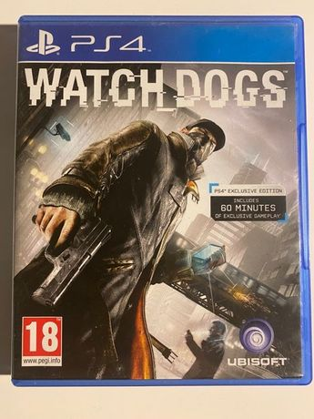 WATCH DOGS na PS4 Playstation 4