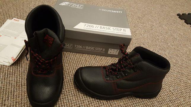 Nowe buty ochronne Nitras roz 45