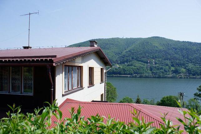 Pokoje Międzybrodzie Bialskie, w górach, nad jeziorem