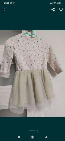 Sukienka dziewczece r 92