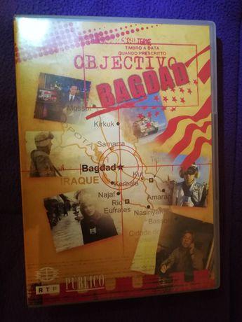 """DVD """"Objectivo: Bagdad"""" (grande documentário/PT)"""