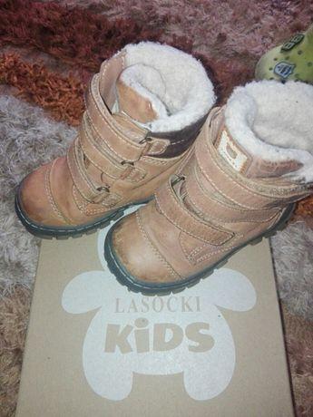 Sprzedam buciki zimowe z Lasockiego