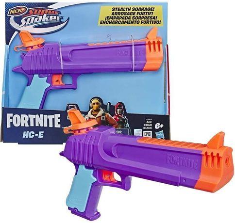 ОРИГИНАЛ! Водный бластер Nerf Super Soaker Fortnite HC-E пистолет Нерф