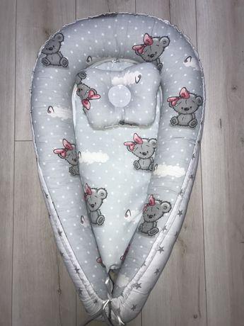 Новый двусторонний кокон с ортопедической подушкой