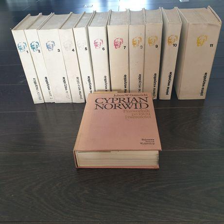 Pisma wszystkie Norwid + biografia