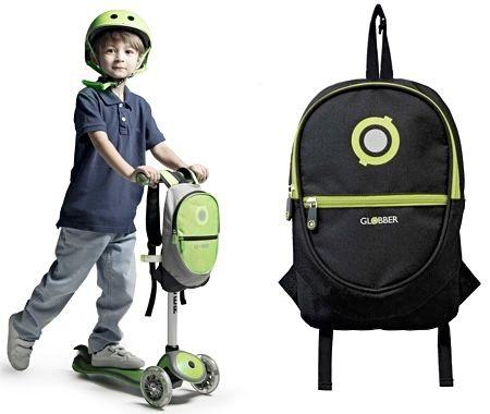 Продам рюкзак для самоката Globber Junior Black/Lime Green