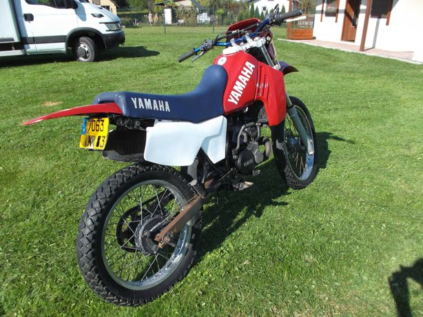 Yamaha dt 125 rejestracja
