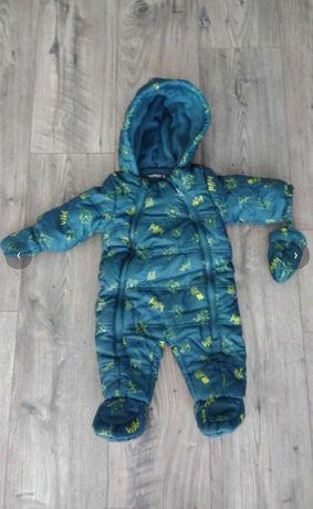 Kombinezon zimowy dla niemowlaka rozmiar 62