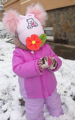 Зимовий комбінезон для дівчинки Carters