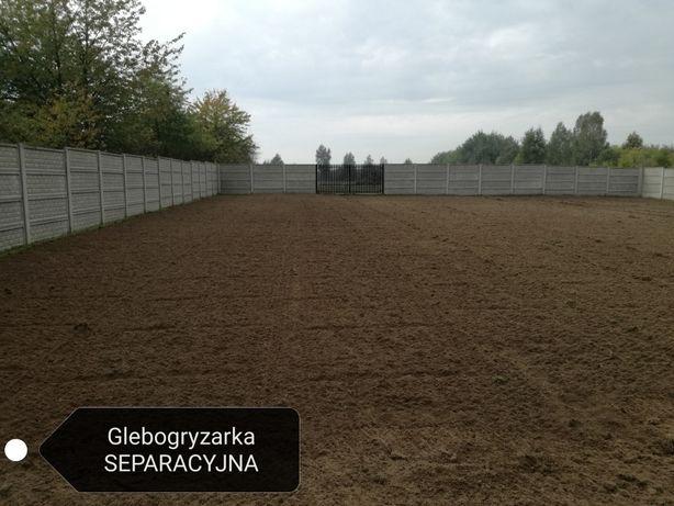 Glebogryzarka SEPARACYJNA Przygotowanie terenu pod trawnik Ostrowiec