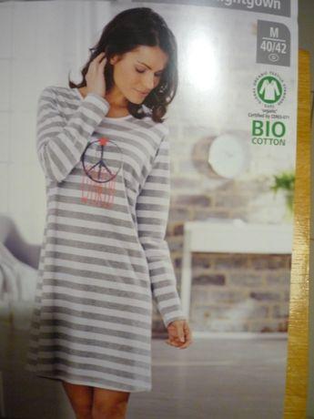 Nowa koszula nocna M/L bawełna