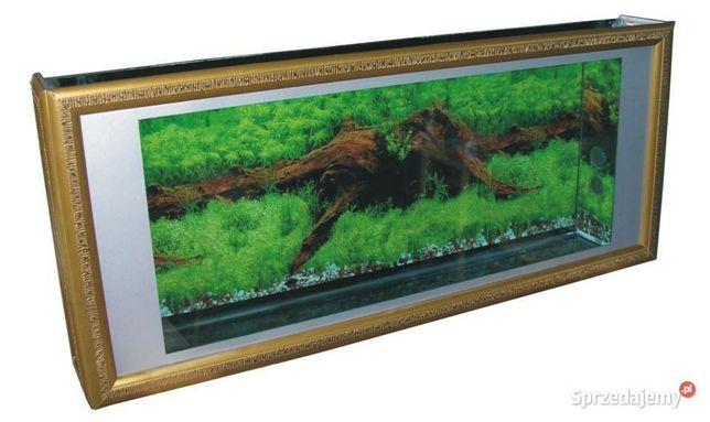 Akwarium wiszące 87 litrów 130x55x15 cm