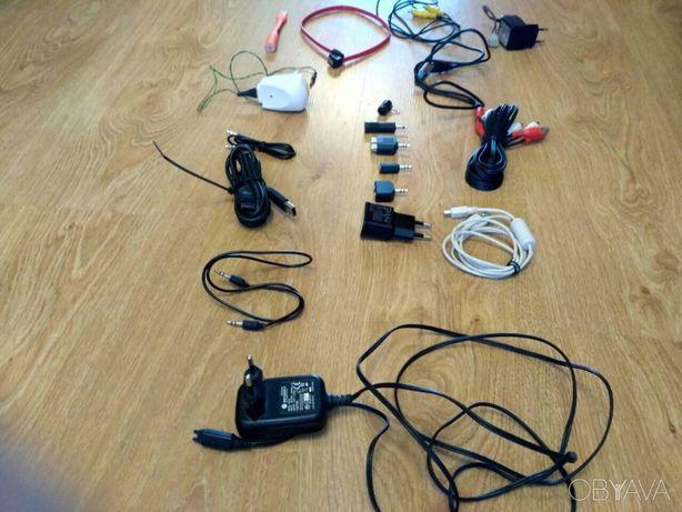 Набор шнуров, кабелей USB, переходников, зарядок, адаптеров зарядных