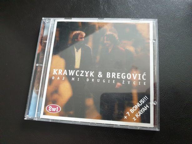 """Płyta Krawczyk &  Bregović """"Daj mi drugie życie """" bonus Kayah"""