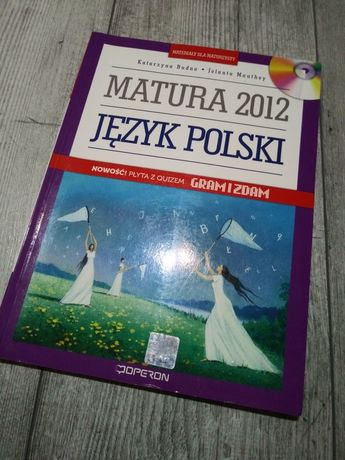 Jezyk polski, materiał dla maturzysty, matura 2012